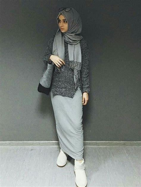 hijab chic comment porter la jupe avec la hijab en hiver