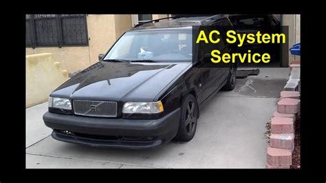 basic ac service volvo    xc auto repair