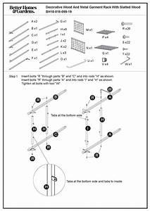 Steel Shelf Assembly Instructions