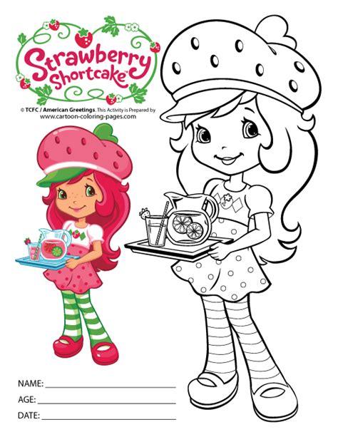 strawberry shortcake printables strawberry shortcake