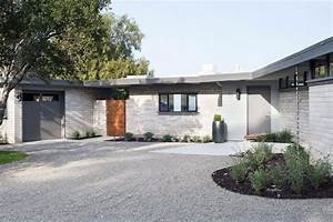 Painting Category : mid century modern home exterior paint