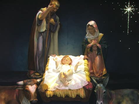christmas wallpaper of baby jesus wallpapers9