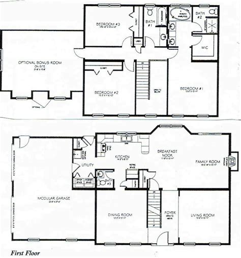 4 Bedroom House Plans 2 Story by 4 Bedroom House Layouts Search Houses