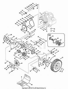 Mtd 31ah5zlh704  2008  Parts Diagram For Drive System