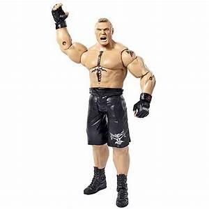 WWE WrestleMania basic brock lesnar action figure