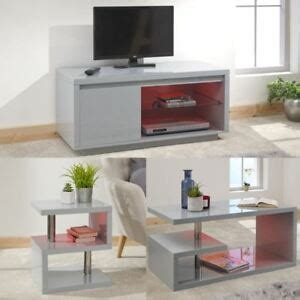 This unique led coffee table can create beautiful atmosphere and will be a real focal point in my living room. POLAR HIGH GLOSS LED TV STAND UNIT LAMP TABLE COFFEE TABLE GREY W/ LED LIGHT | eBay
