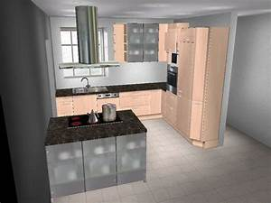 Kleine Küche Mit Insel : alno l k che insel front und korpus birke viele ausz ge ebay ~ Sanjose-hotels-ca.com Haus und Dekorationen