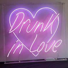 Love this cute kitsch neon sign from sammy & a