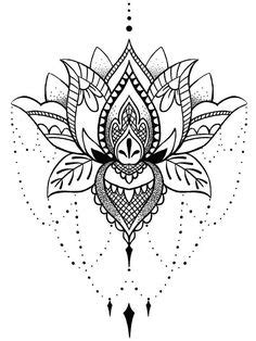 Pin by Mariah Ray on Tattoos | Pinterest | Tatuaje de loto, Tatuajes and Tatuaje hamsa