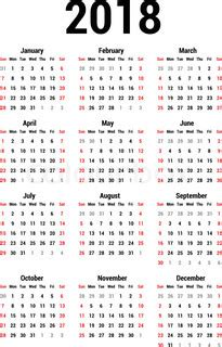 simple calendar calendar template vector colourbox