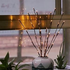 Christmas, Led, Willow, Branch, Lamp, Floral, Lights, 20, Bulb, Home, Garden, Decor, Christmas, Birthday, Gift