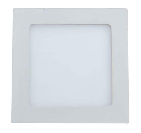 9w square led flat ceiling light