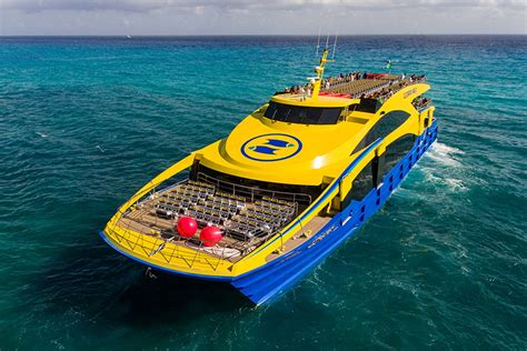 Catamaran Ultramar Cancun by Ultramar Takes Delivery Of High End 48m Catamaran Ferry
