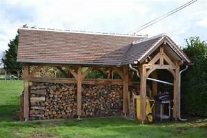 Abris A Bois : abris a bois en douglas couvert tuiles de pays ~ Edinachiropracticcenter.com Idées de Décoration