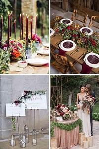 Decoration Mariage Boheme : id es de d coration de mariage champ tre boh me ~ Melissatoandfro.com Idées de Décoration