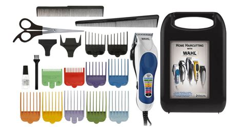 Wahl Corded Color Pro 20-piece Color Coded Haircut Kit