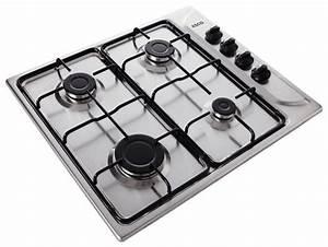 Four Et Plaque De Cuisson : plaque de cuisson gaz inox brico d p t ~ Melissatoandfro.com Idées de Décoration