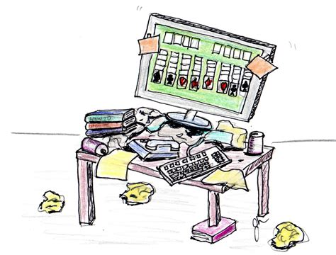 messy desk clipart png cliparts hddfhm