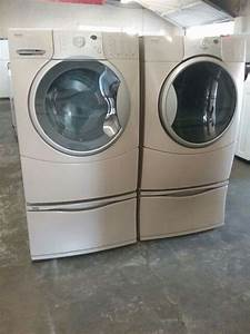 Kenmore Elite He4 Front Load Washer And Dryer Set W  Pedestal For Sale In Ontario  Ca
