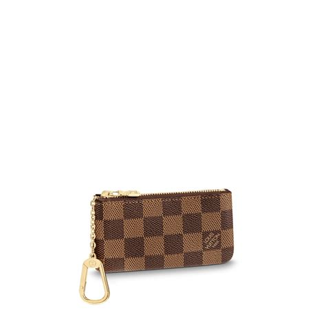key pouch damier ebene canvas small leather goods louis vuitton