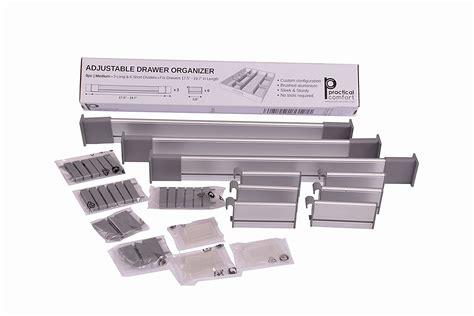 adjustable kitchen drawer organizer adjustable drawer organizer to hold everything of diy 3995
