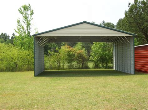 3 Car Metal Carport by Carports Three Car Carports 3 Car Carports