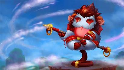 Poro League Wukong Legends Character Monkey Animated