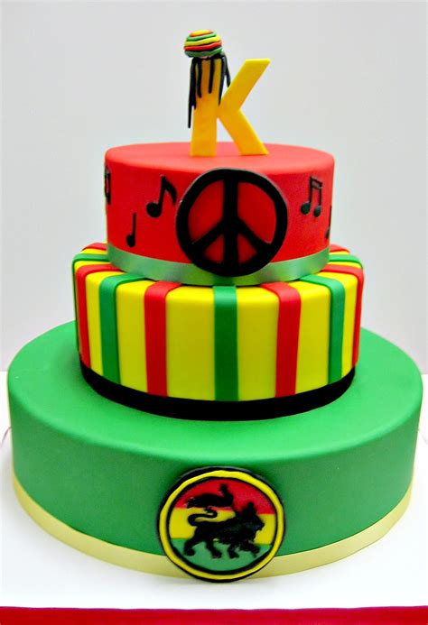 Baby Showers Cakes by Reggae Music Cake Scrumptions