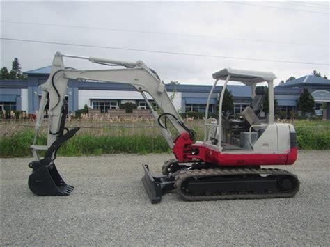 takeuchi tb lot heavy equipment contractors equipment vehicle auction