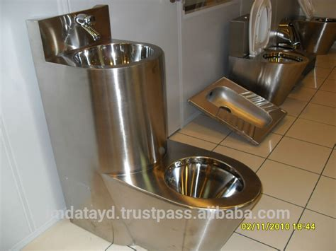prison toilet and sink stainless steel prison toilet aisi 304 quality combination