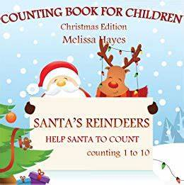 Santa's Reindeers: Counting Book For Children (Christmas ...