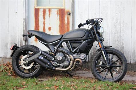 Ducati Scrambler Throttle Image by Throttle All Black Ducati Scrambler Forum