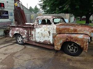 Sell Used 1952 Chevy Truck   Hot Rat Rod   Custom Body On Modern Chassis 4x4 Lowrider Look In