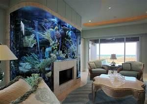 Dco intrieur maison moderne stunning deco interieur for Attractive plan de grande maison 7 l aquarium mural en 41 images inspirantes