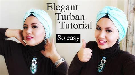 turban hijab tutorial  pashmina  easy tuto turban