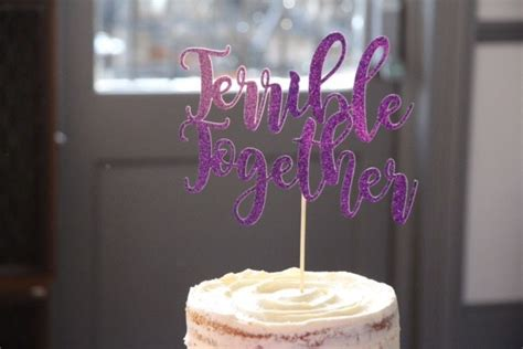 snarky cake toppers thatll   belly laugh