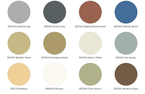 modern home interior color schemes amazing of mid century modern color schemes 9 9450