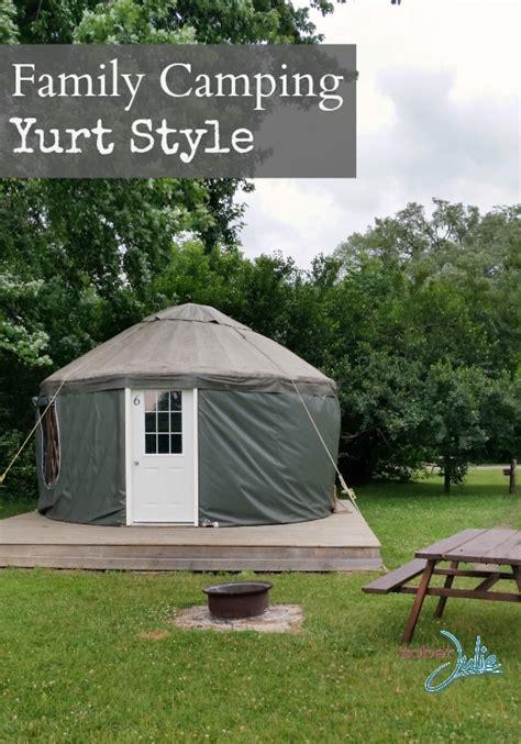 Family Camping In A Yurt At Bingeman's Park