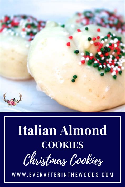Some of the italian christmas cookie recipes are a little different like this one which is deep fried. Sharing my Grandma's Italian Almond Christmas Cookie Recipe - perfect for cookie exchanges #chr ...