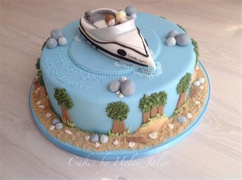 Speed Boat Birthday Cake by Speed Boat Birthday Cake Cake By Cakes By Helen Cakesdecor