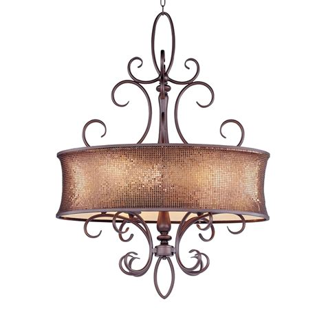 collection 6 light 44 quot bronze chandelier with