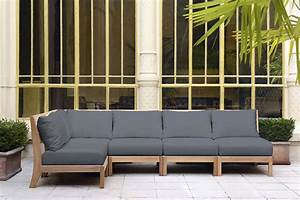 Canape Bois Exterieur : salons d 39 ext rieur ~ Teatrodelosmanantiales.com Idées de Décoration