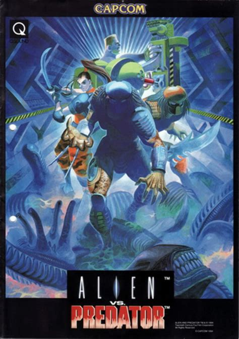 Alien Vs Predator 940520 Usa Rom Capcom Play System 2