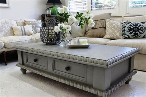 painting coffee tables ideas grey painted coffee tables