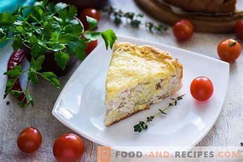 Atvērts pīrāgs ar vistu un kartupeļiem siera garozā