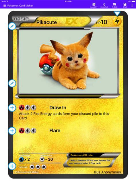 Card Maker Creator For Pokemon On The App Store