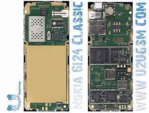 Nokia 6124 Classic Full Pcb Diagram Mother Board