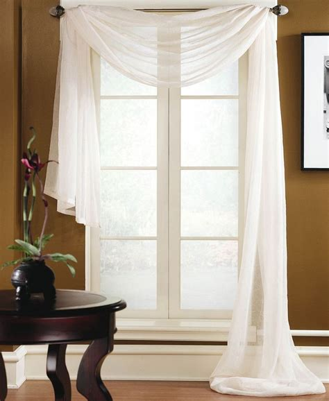 25 best ideas about scarf valance on curtain