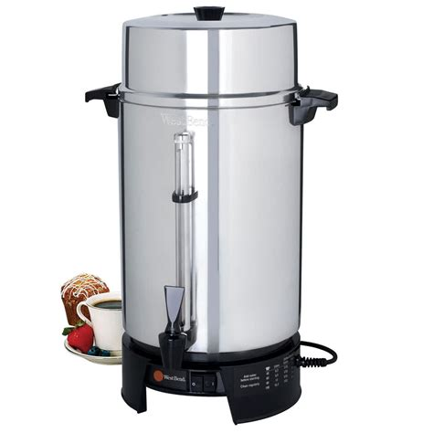 commercial kitchen knives bend 58010v commercial 100 cup aluminum coffee maker
