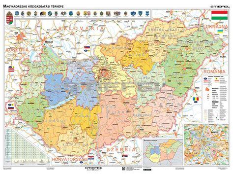 Magyarország hadtörténete két kötetben (főszerkesztő: Magyarország közigazgatása iskolai falitérkép, DUÓ - hátoldalon közigazgatási vaktérképpel +10 ...